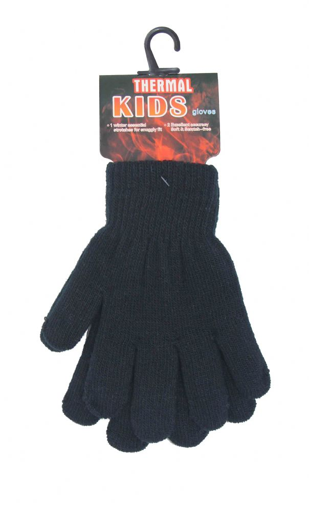Kids thermal gloves thick GL619579